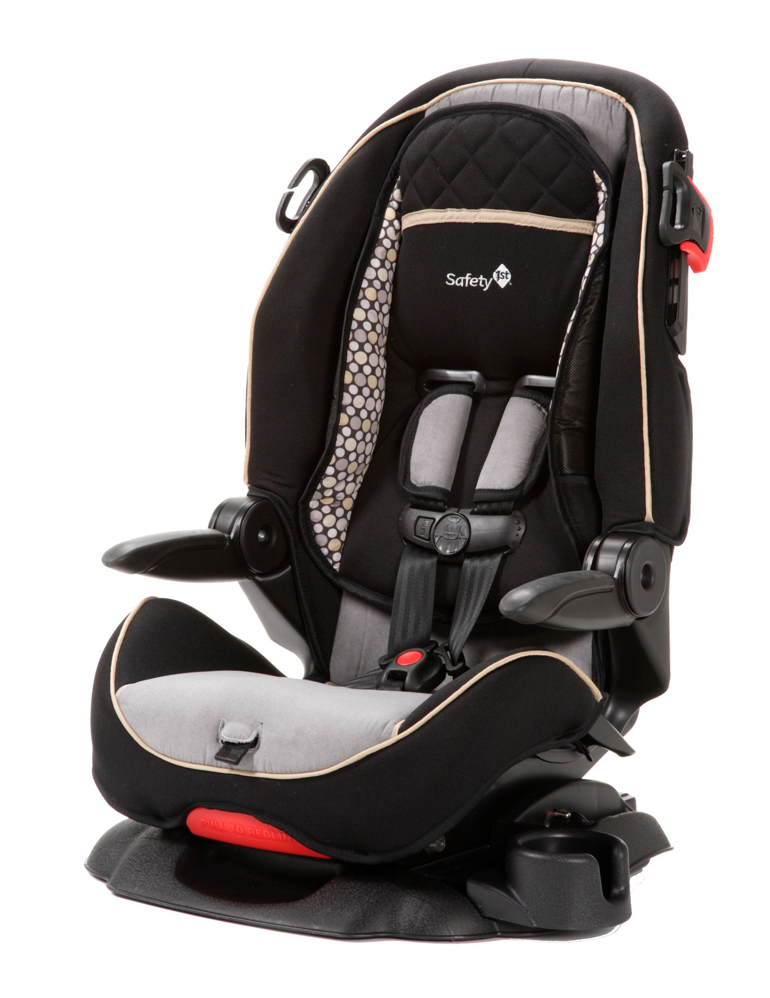Safety 1st Summit Deluxe High Back Booster Baby Car Seat Quarry