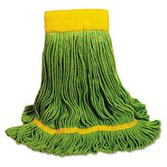 UNISAN Recycled Fiber Looped-End Mop Head, Medium, Green at Kmart.com