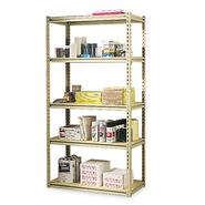 Tennsco Stur-D-Stor Shelving, 5 Shelves, 36x18.5x73, Sand at Kmart.com