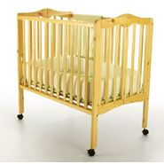 Dream On Me 2 in 1 Lightweight Portable Folding Crib Natural at Kmart.com