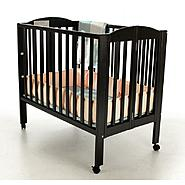 Dream On Me All-In-One Portable Folding Crib, Playpen and Changing Station Black at Kmart.com