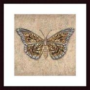 Tiger Butterfly ,Framing: black wood, white matte at Kmart.com