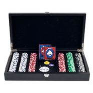 Trademark Poker 300 11.5 Gram Striped Dice Chips in Cigar Tray Chip Case at Kmart.com