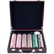 Trademark Poker 300 NexGenT PRO Poker Chips in Cigar Tray Chip Case at Kmart.com