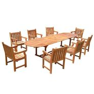 Vifah Modica 9-Piece Dining Set at Kmart.com