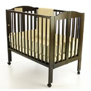 Dream On Me 2 in 1 Portable Folding Crib Black at Kmart.com