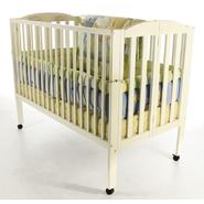 Dream On Me Full Size 2 Position Folding Crib White at Kmart.com