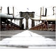 Trademark Fine Art Yale Gurney 'Brooklyn Bridge' Canvas Art at Kmart.com