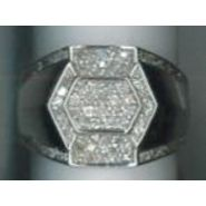 !GenericBrand Men's sterling silver and cz ring at Sears.com