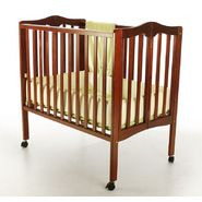 Dream On Me 2 in 1 Lightweight Portable Folding Crib Cherry at Kmart.com