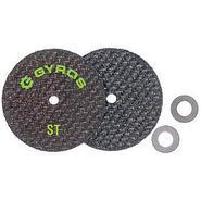 "Gyros Fiber Disks ST 11-42502 Fiberglass Reinforced Cut Off Wheels  2-1/2"" Dia. - Set of 2. For Dremel Type Tools. at Sears.com"