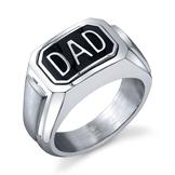 Men's Diamond Accent Flip Dad Ring at mygofer.com
