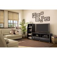 South Shore City Life Collection TV Stand and Audio Tower Pure Black at Kmart.com