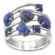 Lapis Pebble Stone Ring at Sears.com