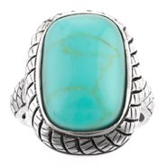 Turquoise Rectangle Ring at Sears.com