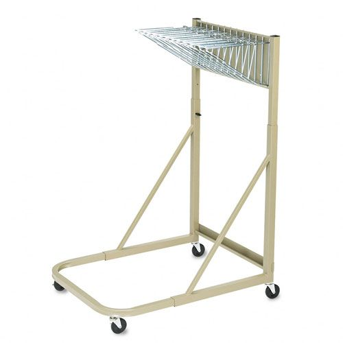 Safco  Steel Sheet File Mobile Stand