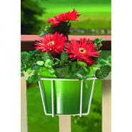 "Cobraco 8"" Adjustable Basic Flower Pot Holder - White at Kmart.com"