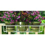 "Cobraco Adjustable 24""-36"" Flower Box Holder - White at Kmart.com"