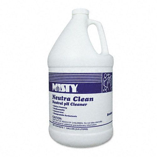 Neutra Clean Floor Cleaner, 1gal Bottle, 4/carton