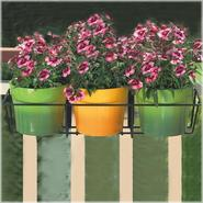 "Cobraco 36"" Adjustable Basic Flower Box Holder - Black at Kmart.com"