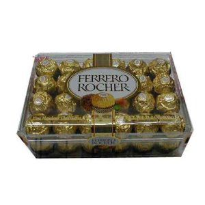 Ferrero  Rocher Hazelnut Chocolates, 48 ct.