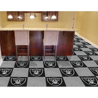Fanmats Oakland Raiders Carpet Tiles