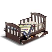 Sorelle Furniture Joel Toddler Bed - Espresso at Kmart.com