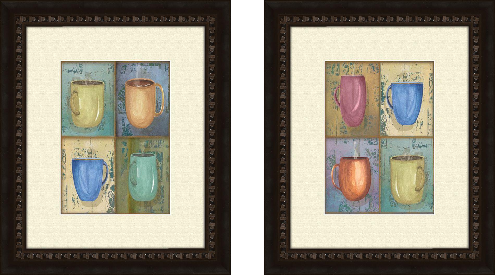 "PTM Images 11.5"" x 13.5"" Cups Wall Art Print PartNumber: 02409441000P KsnValue: 02409441000 MfgPartNumber: 1-6707"