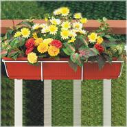"Cobraco 24"" Adjustable Basic Flower Box Holder - White at Kmart.com"