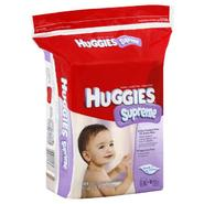 Huggies Supreme Thick-N-Clean Baby Wipes, Fragrance Free 3 refills [184 wipes] at Kmart.com