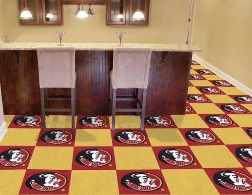Fanmats Florida State University Collegiate Carpet Tiles