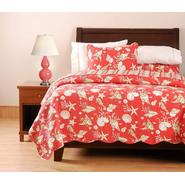 Quilts & Accessories Twin Quilt, Ocean Coral at Sears.com
