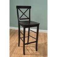 "TMS 24"" easton crossback barstool in espresso at Sears.com"