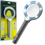 Super Bright™ 6 LED 4x Magnifying Glass at Kmart.com