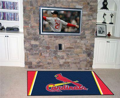 Fanmats St Louis Cardinals 4x6 Area Rug