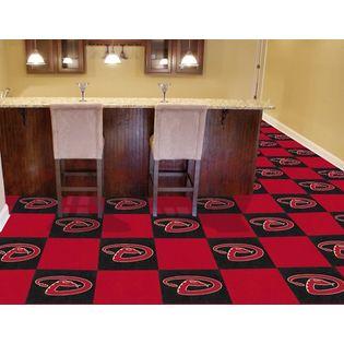 Fanmats Arizona Diamondbacks Carpet Tiles