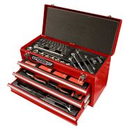 Speedway Start to Finish 3 Drawer Tool Chest with 118 piece tool kit- 8836 at Sears.com