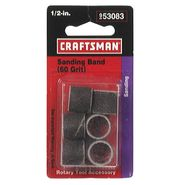 Craftsman 1/2 in. Sander Bands at Craftsman.com