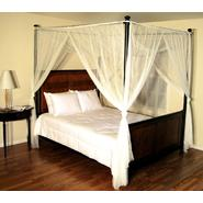 Casablanca Ecru Palace Four Poster Bed Canopy at Kmart.com