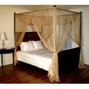 Casablanca Gold Palace Four Poster Bed Canopy at Kmart.com