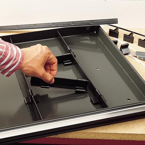 Craftsman Tool Box Divider System, Black/ Black im test