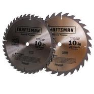 Craftsman 10 in. Saw Blade Pack, 2 pk. at Sears.com
