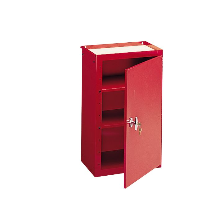 Craftsman 2-Shelf Side Chest - Red