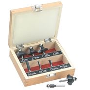 Craftsman 8 pc. Router Bit Set at Craftsman.com