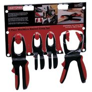 Craftsman 4 pc. Mini/Micro Ratchet Clamp Set at Sears.com