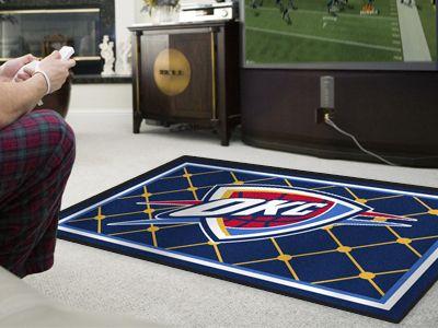 NBA - Oklahoma City Thunder 5x8 Doormat PartNumber: 03730561000P