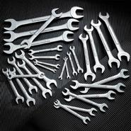 Craftsman 28 pc. Standard and Metric Open End Wrench Set at Craftsman.com