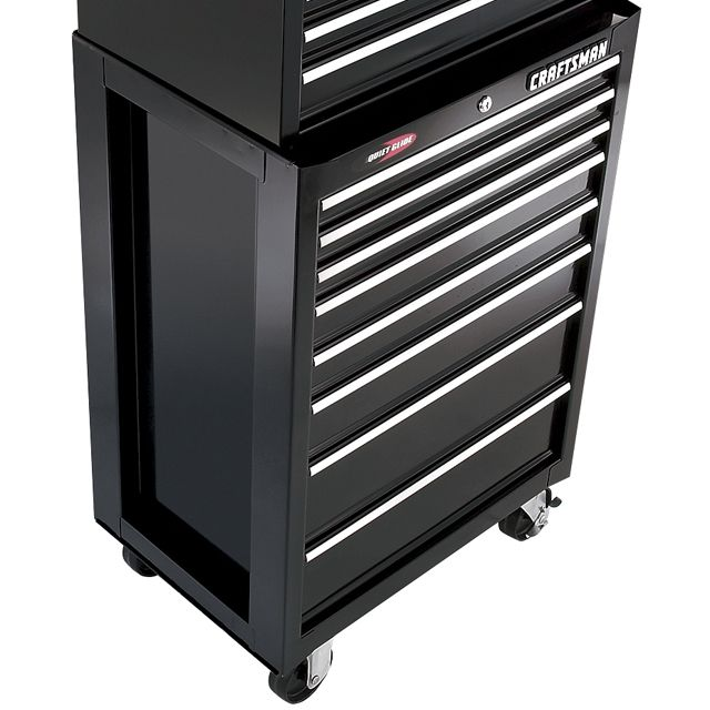 "Craftsman 26-1/2"""" 8-Drawer Quiet Glide Roll-Away Tool Chest"