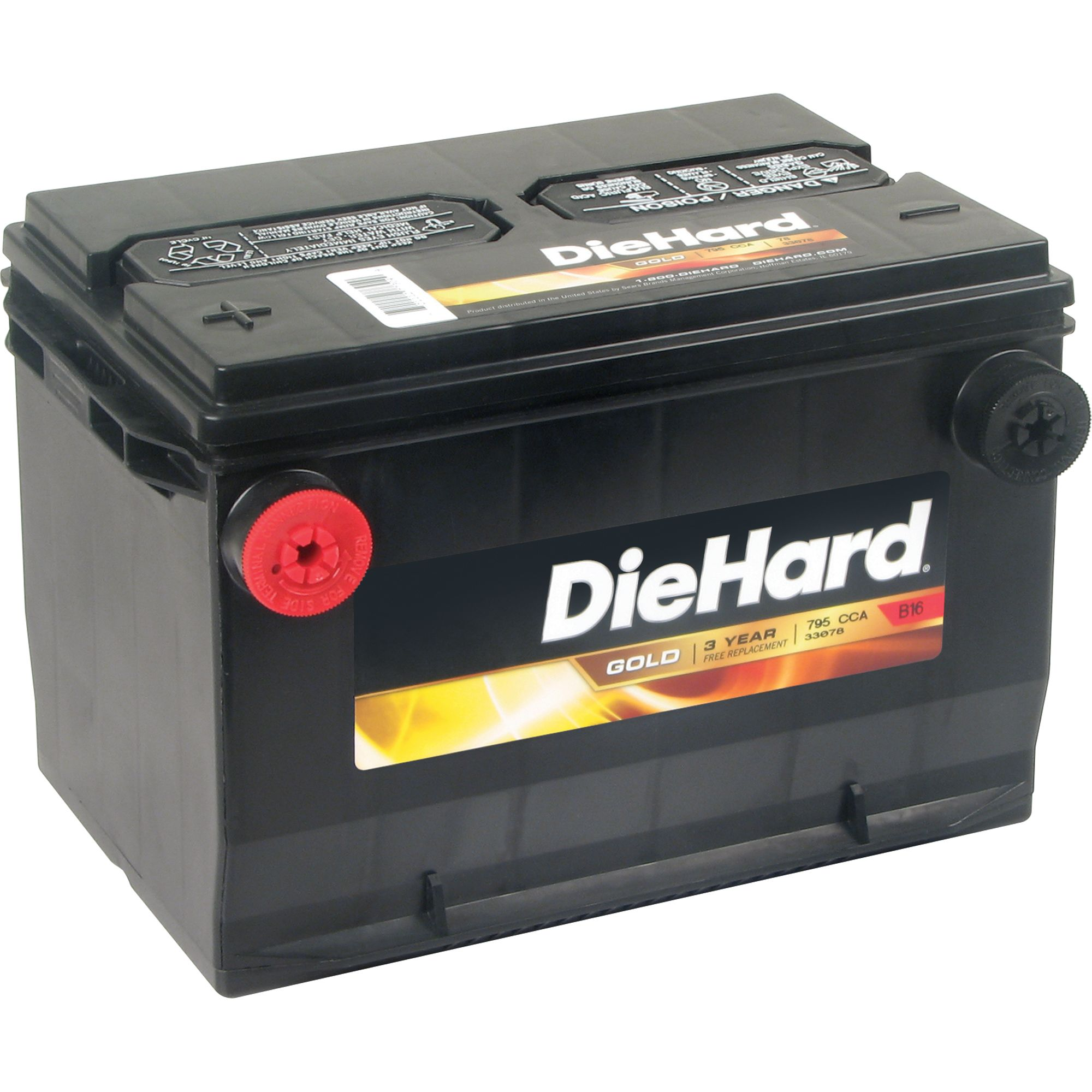 DieHard  Gold Automotive Battery Group Size 78 (Price with Exchange)