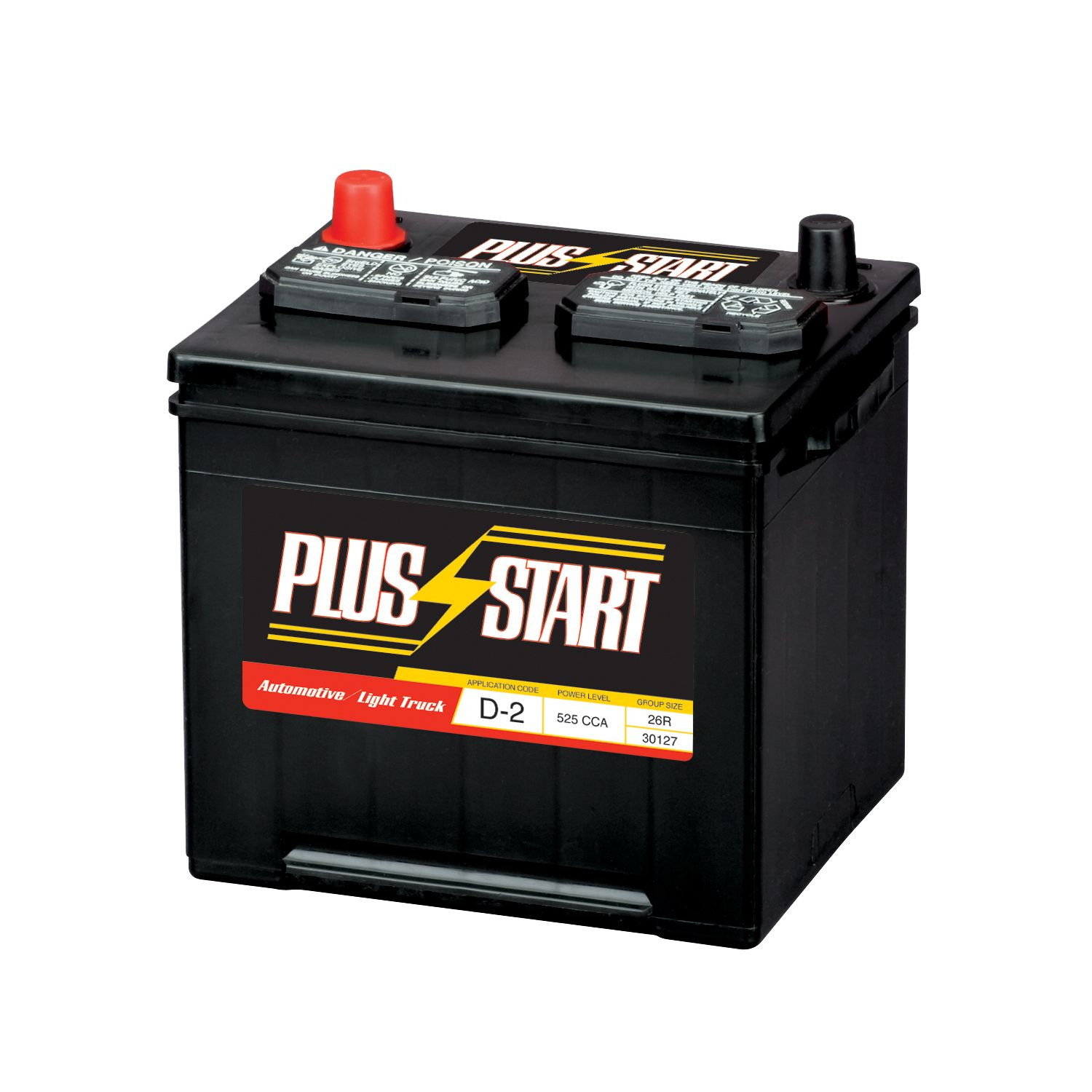 Plus Start  Automotive Battery - Group Size 26R (Price with exchange)